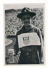 24/348 SAMMELBILD OLYMPIA 1936 - BOYSCOUT in AMERIKA sammelt für OLYMPIA-FONDS