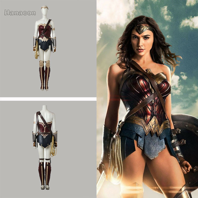 New Wonder Woman Diana Prince Cosplay Costume Halloween Party Clothing Outfit Ebay