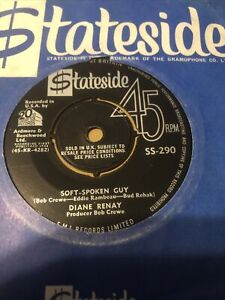 "DIANE  RENAY - SOFT-SPOKEN GUY 7"" NORTHERN SOUL 1964  STATESIDE SS-290  N/ MINT"