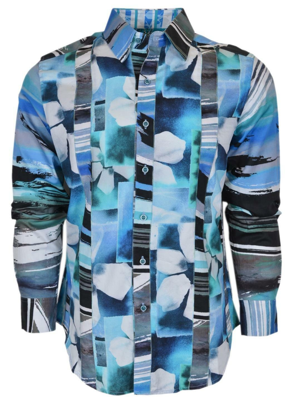 NEW Robert Graham  ARABIAN SEA Button Down Sports Dress Shirt