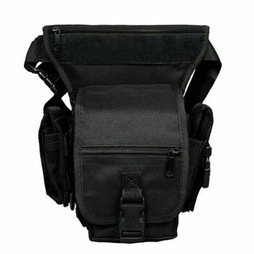 Motorrad Reise Herren Hüft Bauch Gürtel-Tasche Leg Bag Bein Tasch Angeltasche