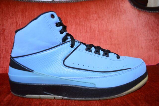 new concept 84ccd a86d0 VNDS Nike Air Jordan 2 Retro QF University Blue Black White Size 10.5  395709 401