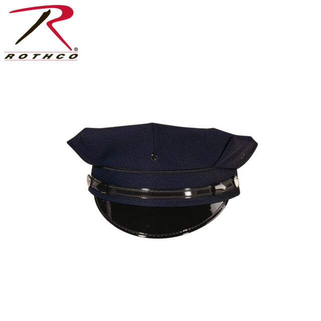 POLICE SECURITY STYLE 8 POINT CAP HAT ROTHCO 5661 VARIOUS SIZES