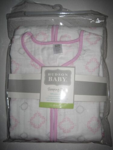 Hudson Baby Muslin Sleeping Bag