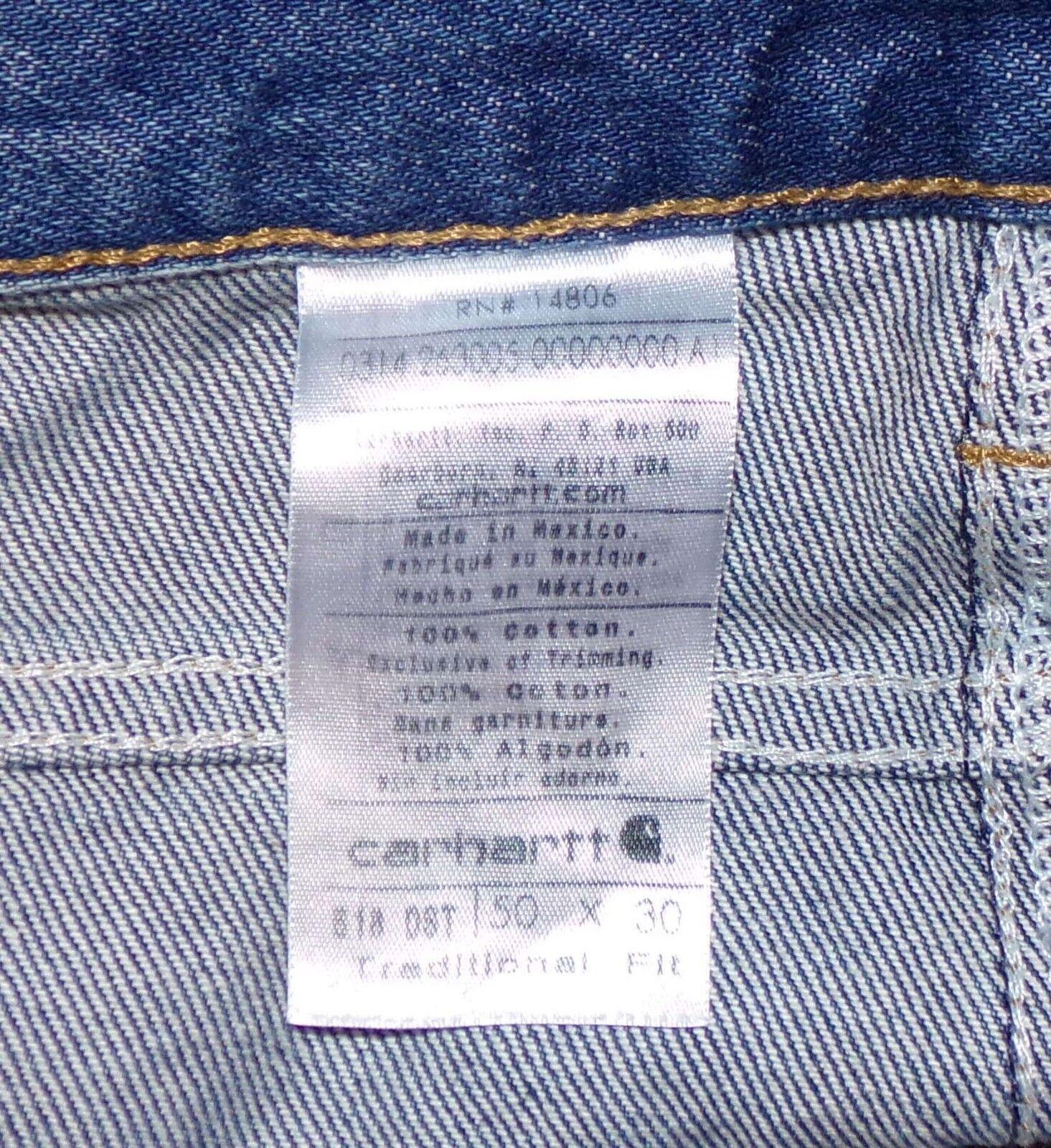 Carhartt Blaue Jeans Herren 50 X 30 30 30 Denim    Hohe Sicherheit  70bf12