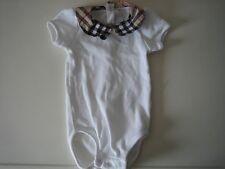 BURBERRY BODYSUIT JUMP SUIT INFANT OUTFIT DESIGNER BABY NEUTRAL UNISEX 3 MONTHS