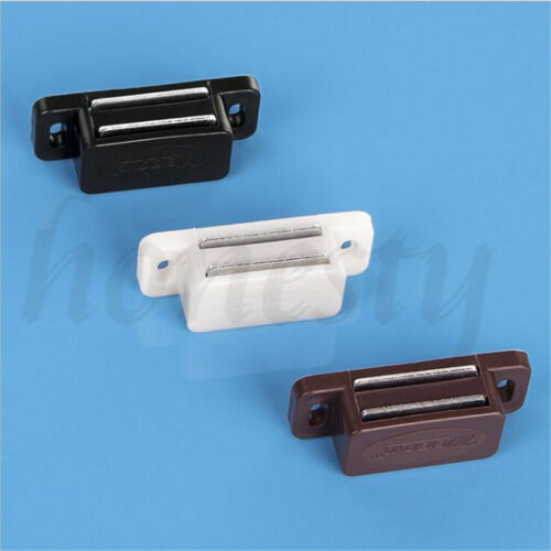2 //4pcs Magnetic Door Catches For Kitchen Cabinet Cupboard Wardrobe Latch
