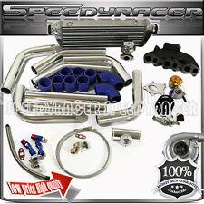 T3T4 Turbo kits intercooler wastegate cast iron manifold 92-05 Golf Jetta Passat