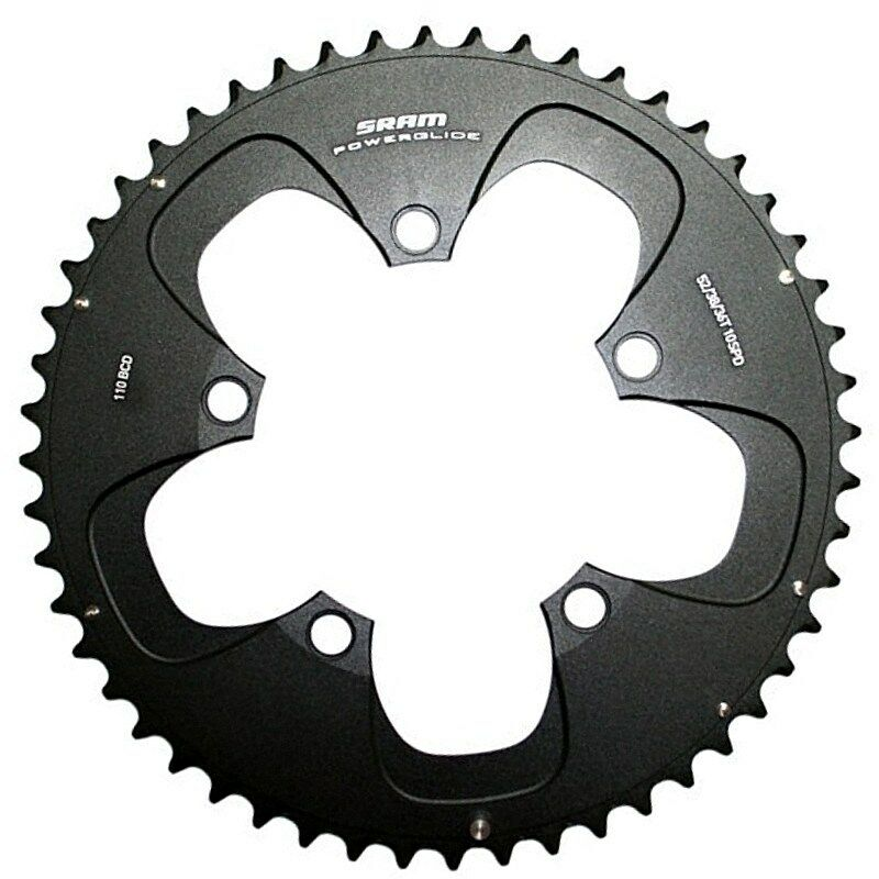 SRAM RED 10 Speed Chainring Set  52T+38T, BCD 110mm, R02 765, New in Box  best offer