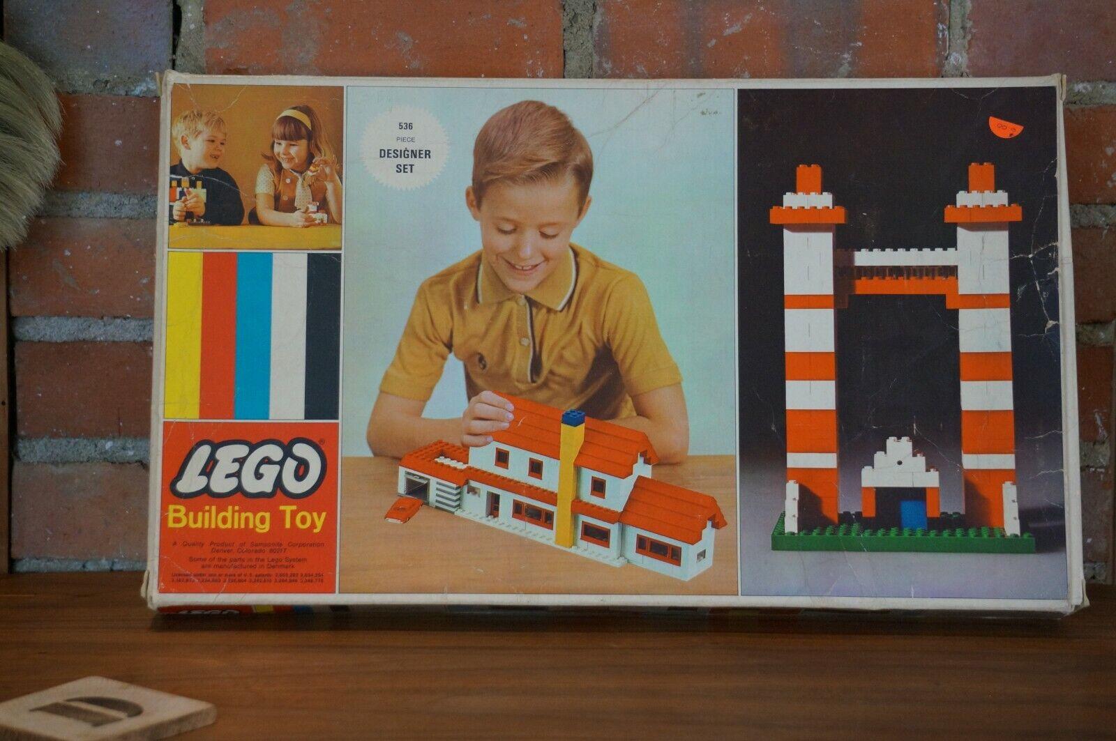Jahr Lego  536 Designer set MIB