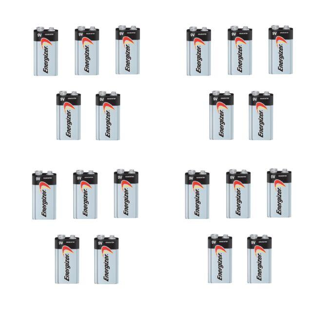 Energizer Max 9V 9 Volt 522 Alkaline Batteries Bulk 20 pk (new)Exp.12/2024