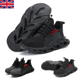 Safety Shoes Mens Womens Lightweight Steel Toe Cap Work Boots Trainers Shoes New