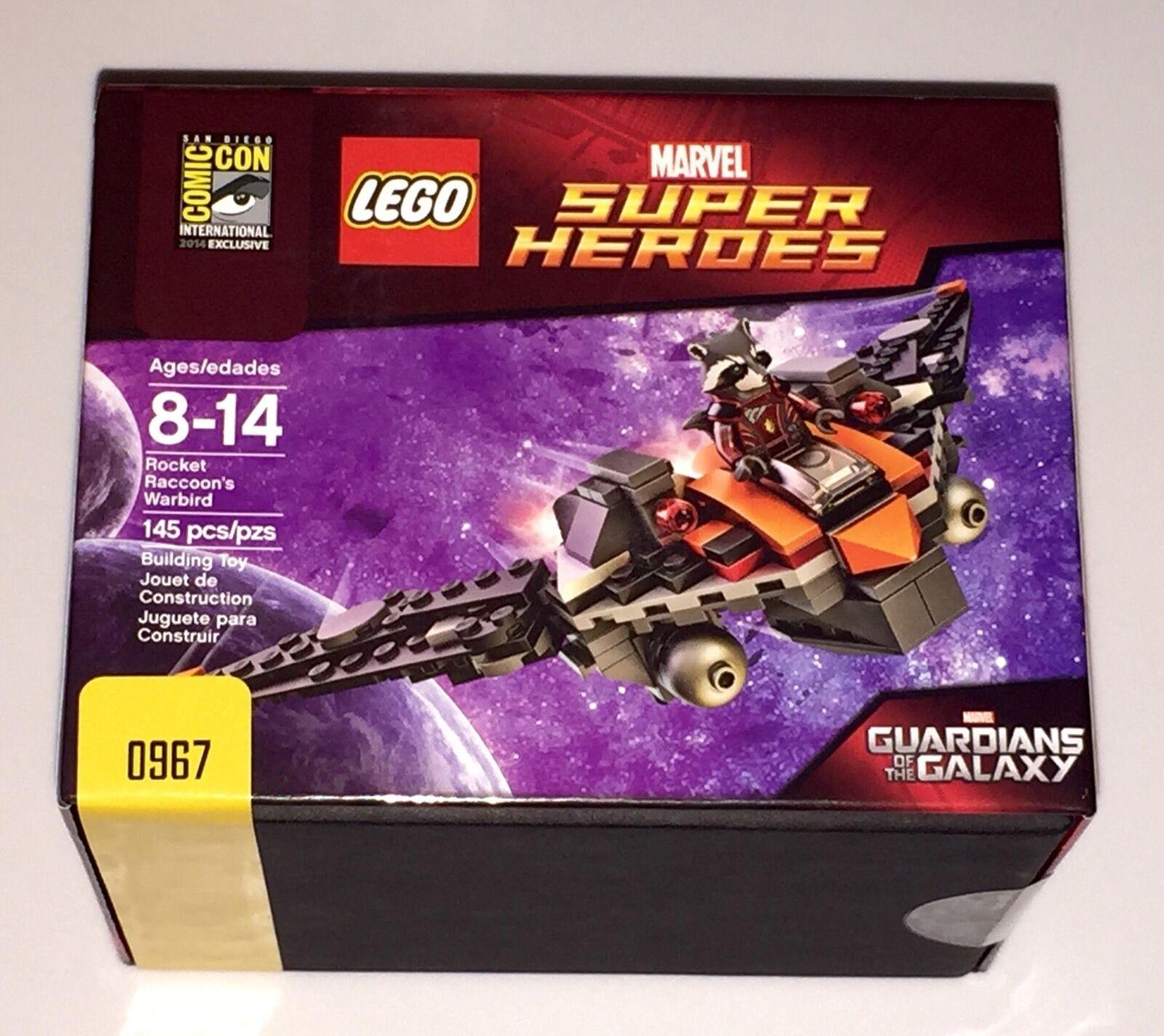 SDCC 2014 LEGO GUARDIANS OF THE GALAXY ROCKET'S WARBIRD LTD  967 1000 RARE