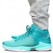 NIKE JORDAN SUPER FLY 4 PO Basketball Trainers Shoes  - UK 9 (EUR 44) Rio Teal