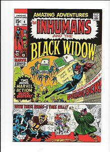 Amazing-Adventures-4-January-1971-Inhumans-Black-Widow