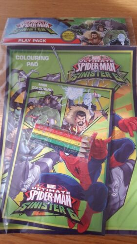 spiderman sinister 6  play pack