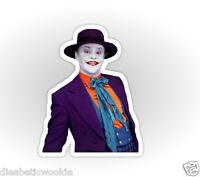 Batman Suicide Squad Dark Knight Jack Nicholson Joker Sticker Decal Car Laptop