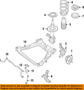 image is loading nissan-oem-2013-altima-front-frame-crossmember-cross-