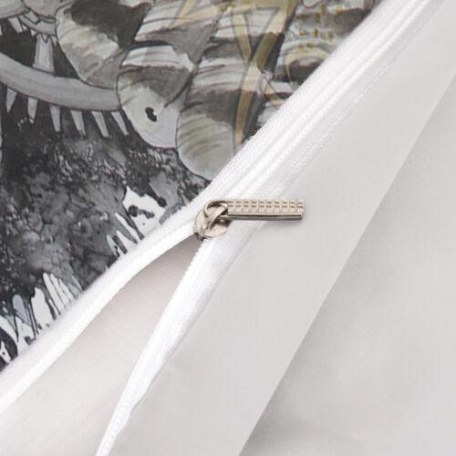 Hibou Housse de couette avec taies d/'oreiller 3D Imprimé Animal Avec Housse De Couette Ensemble De Literie