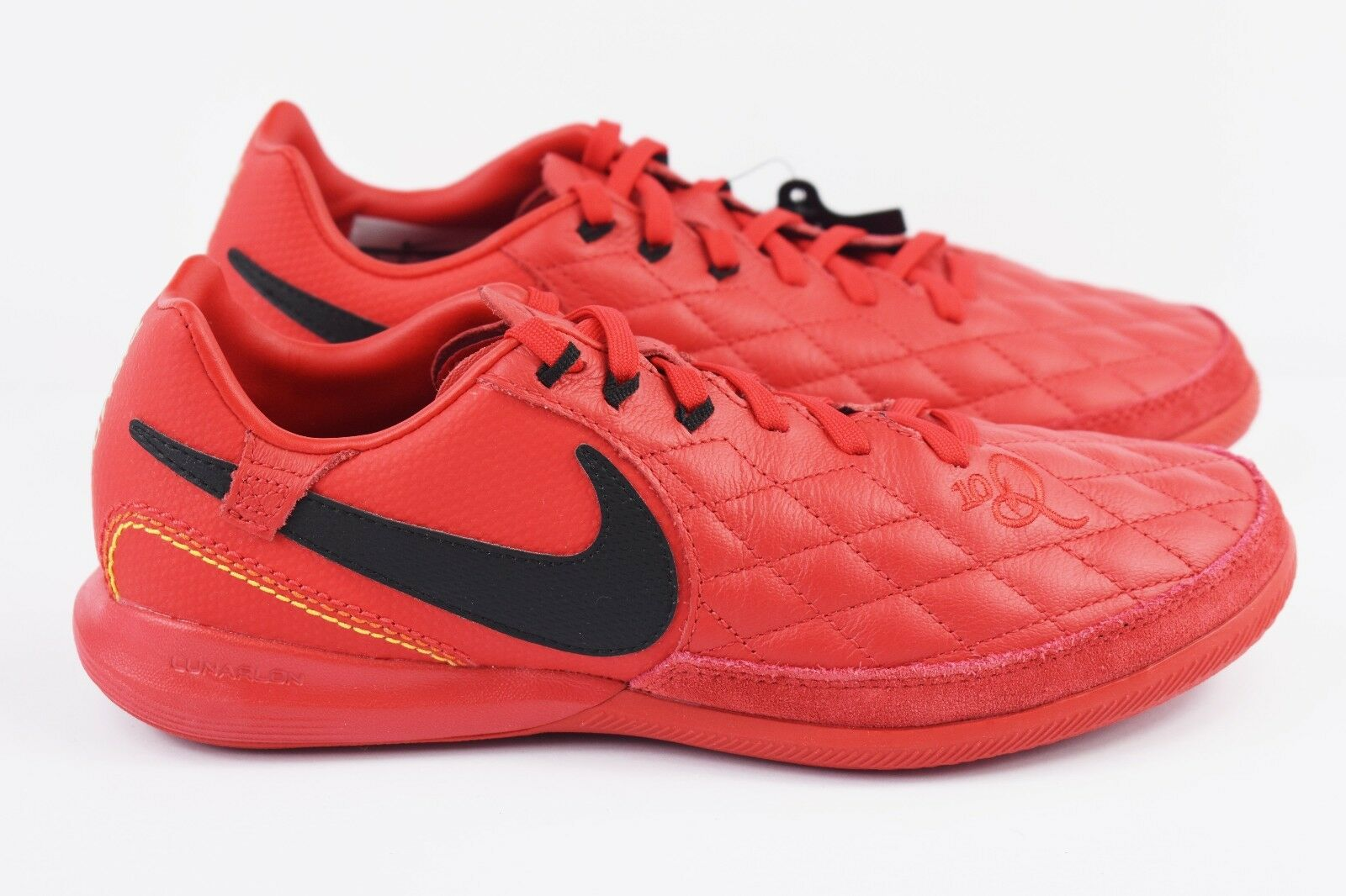 69b67764cecdb Nike Lunar LegendX 7 Pro Pro Pro 10R IC Mens Size 6.5 shoes Red Ronaldinho  AQ2211 ...