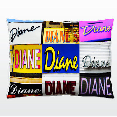 Personalized Pillowcase featuring the name STEPHEN in photos of full signs