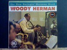 WOODY HERMAN  The new Swingin' Herman Herd  LP     RARE !
