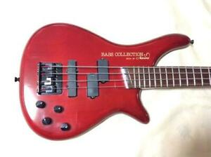 Marina SB301 Red 4 String Red Bass Collection Guitar Made in Japan