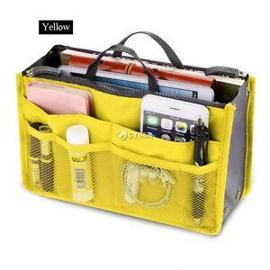 Grande-Ordenado-Organizador-bolso-mujer-de-Viaje-mano-Insertar