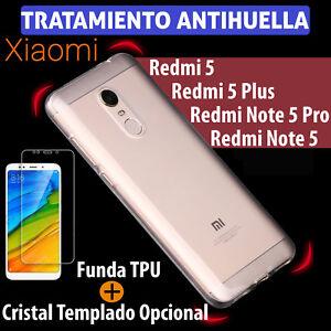 FUNDA-TPU-gel-PARA-Xiaomi-Redmi-5-5-Plus-Note-5-5-Pro-PROTECTOR-CRISTAL-TEMPLADO