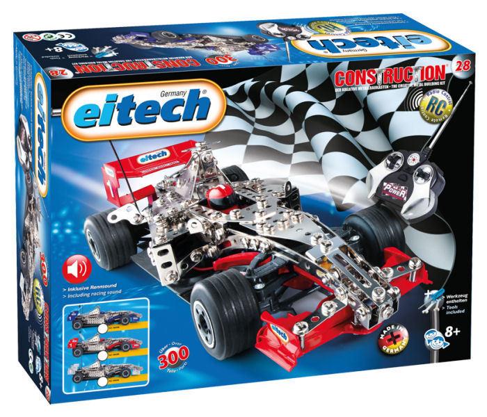 Eitech C28 - RC Formel 1 Rennwagen NEU - Construction Metallbaukasten 00028