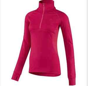 NEW ADIDAS WOMENS HALF ZIP ULTIMATE PULLOVER RUNNING TRAINING TOP  ~ XS ~D88263