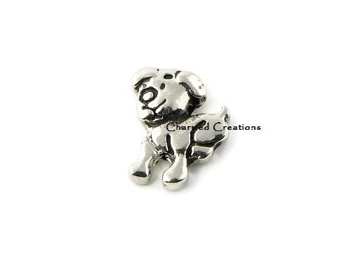 Pet// Love My Dog// Puppy// Memory// Floating Charm for Memory Locket