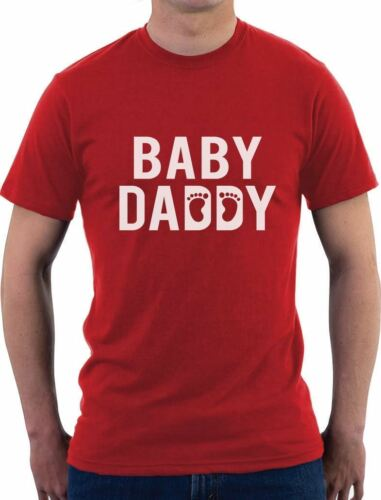 Baby Daddy Funny New Dad Father/'s Day Gift For New Father T-Shirt Novelty