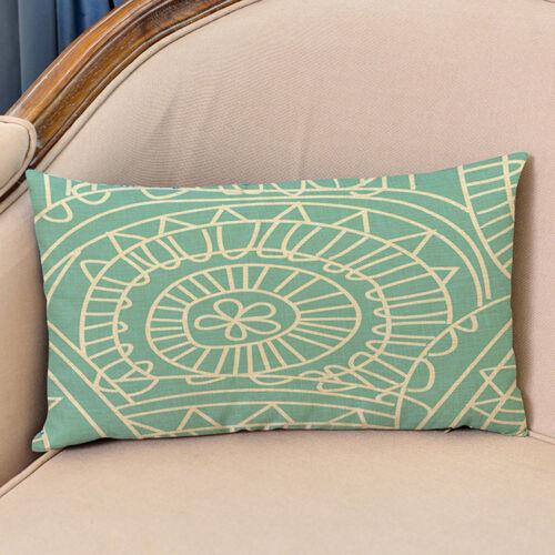 Rectangle Sequin Taie d/'oreiller à motifs géométriques ligne canapé maison Taie d/'oreiller Housse de coussin