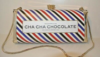Kate Spade Cha Cha Chocolate Clutch Handbag NWT Absolutely Brand New Perfect!