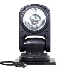 55w Xenon HID Search Work Light Remote Rotating Magnetic Fold Truck Spot 12V DC