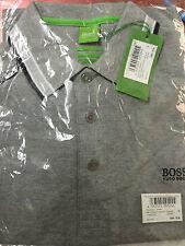 HUGO Branded Polo Tshirt Grey Size L