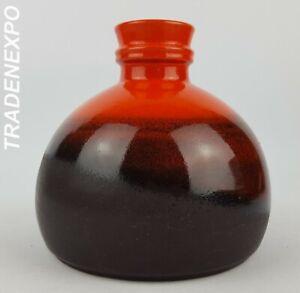 Vintage-60s-70s-STEULER-KERAMIK-Vase-West-German-Pottery-Fat-Lava-Era-MCM-RETRO