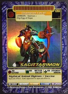 2002-Digimon-Series-5-BO-238s-Sagittarimon-Holo-Foil-NM-M-NEVER-PLAYED