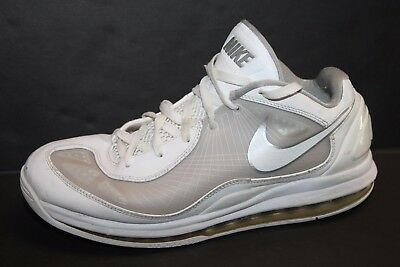 1da20895f96 Mens Nike Air Max 360 Low Flywire Basketball Casual Gym Shoes 441947 ...