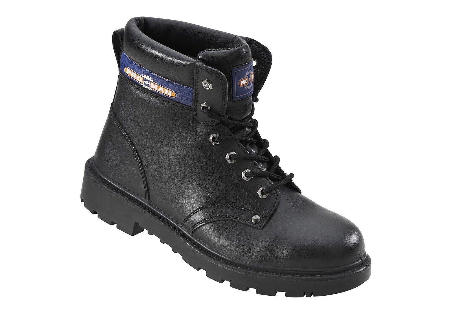Proman Herren 15.2cm Sicherheits Stiefel mit Zwischensohle und Stahl