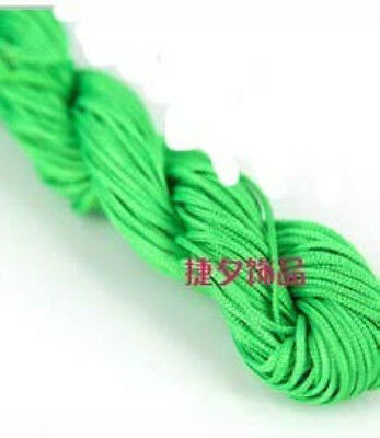1pc 1.0mm 25M/roll Chinese Knotting Nylon String Beading Bracelet Thread Cord