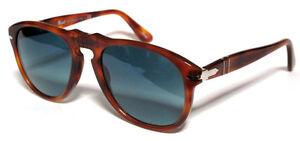 649 Personalisé 54 Lumière Polarized Havana Sur Détails Bleu S3 Sunglasses Custom Persol m8vNw0nOPy
