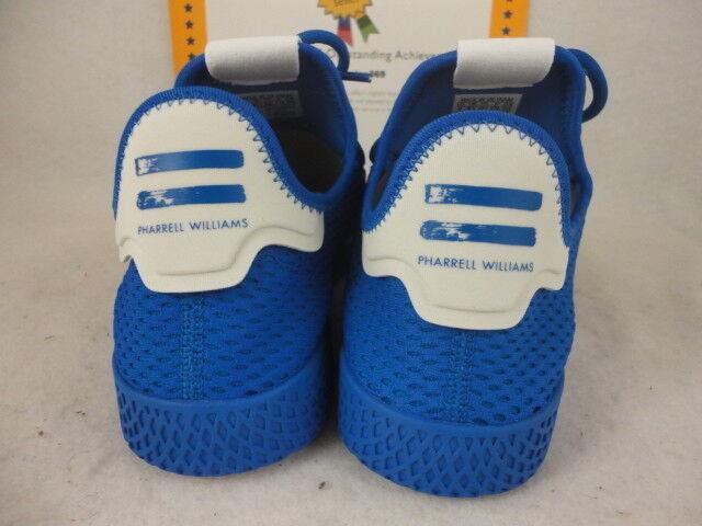 Adidas PW Tennis HU, Pharrell Williams, bluee   White, Size 13