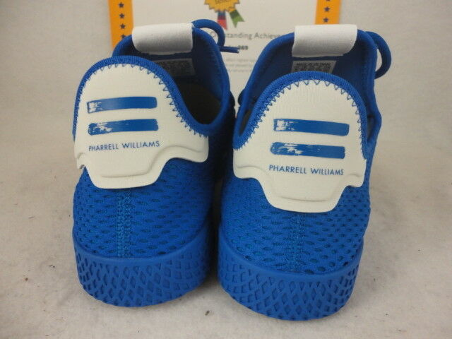 fe27ea84f22b5 adidas Pharrell PW Tennis HU Mens Cp9766 Blue Mesh Athletic Shoes Size 9  for sale online