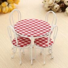 Doll's house table and 4 chairs 1:12 scale - UK Business