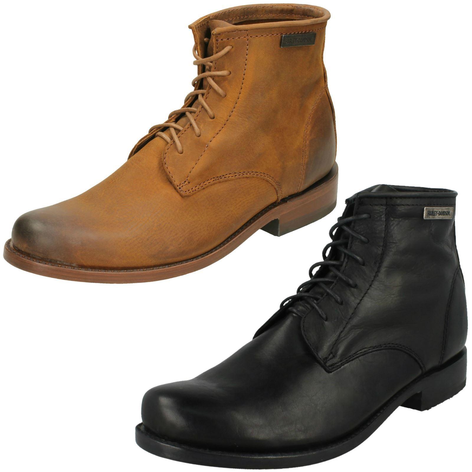 Mens Harley Davidson Ankle Boots - Tarrson