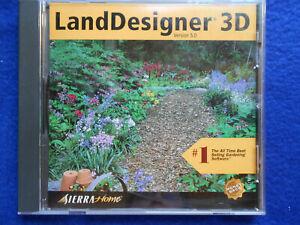 LandDesigner 3D 5.0 PC CD backyard lawn garden plant ...