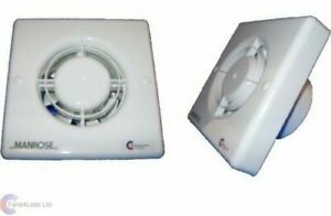 Manrose Xf100t 4 Bathroom Extractor Fan With Timer Ebay