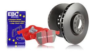PD02KF404 EBC Front Brake Kit Redstuff Pads /& Standard Discs